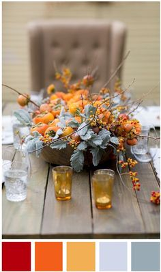 Life Hacks : 10 Stunning Fall Centerpiece Ideas We Bet You Haven't Thought Of Persimmon platter. Get this and more beautiful fall centerpiece ideas and Rustic Thanksgiving, Thanksgiving Table Settings, Thanksgiving Centerpieces, Holiday Tables, Thanksgiving Flowers, Thanksgiving Wedding, Thanksgiving Crafts, Happy Thanksgiving, Non Floral Centerpieces