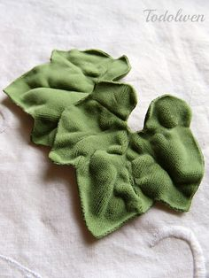 Todolwen: Velvet Pumpkin Leaves ~ My Newest Free Tutorial ...