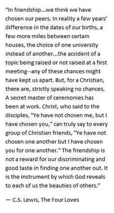 CS Lewis on friendship. This is something I think about often, I love this. Great Quotes, Quotes To Live By, Me Quotes, Inspirational Quotes, Friend Quotes, Marion Zimmer Bradley, Cool Words, Wise Words, Collateral Beauty