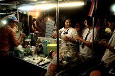 Night market, Trang, Thailand