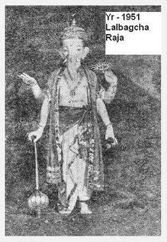 Lalbaugcha Ganesh Image 1951
