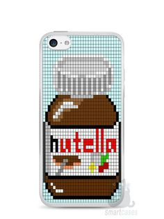 Capa Iphone 5C Nutella #3 - SmartCases - Acessórios para celulares e tablets :)