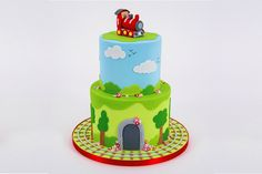 How to Decorate a Train Cake #Baking #SugarCraft