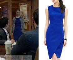 Shameless: Season 6 Episode 9 Lawyer's Assistant Blue Dress