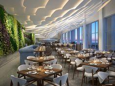 Conrad Fort Lauderdale Beach Hotel, FL - Brezza Restaurant