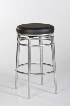 Hillsdale Hyde Park Backless Swivel Bar Stool - Chrome Price: $299.00