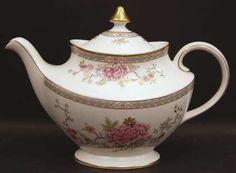 Royal Doulton China Canton Teapot & Lid