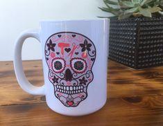 Sugar Skull Hairdresser Coffee Mug