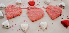 Big Rigs 'n Lil' Cookies: Cranberry Valentine's Cookies