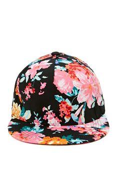 Flower Trip Cap