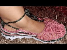 BOTA TEJIDA EN CROCHET MODELO XIOMY - YouTube
