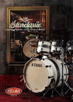 #Tama Starclassic #Drums