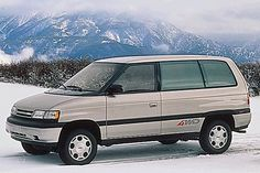 Mazda MPV 4WD - an oldie but a goldie!