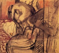 Degas - After the Bath