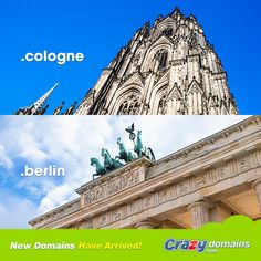 Which city is better: #Cologne or #Berlin? Register your city's new TLD here: http://www.crazydomains.de/domain-names/?pipromodeutsch  #Germany #Deutschland #Köln #sprechensiedeutsch