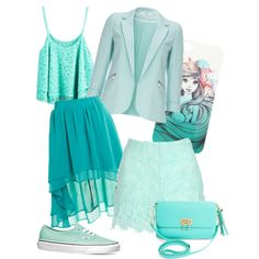 baby blue by paluna on Polyvore featuring polyvore fashion style Wallis Jane Norman Staring At Stars Vans BCBGMAXAZRIA Disney