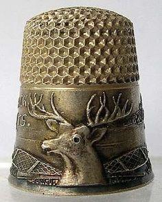 a 'deer' sweet little thimble  :)