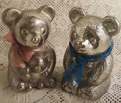 Banks Metal Bears by WillowLaneGallery on Etsy