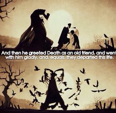When someone spoils the end of a book books pinterest books greeted death as an old friend m4hsunfo Images