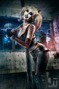 Alodia as Harley Quinn ^_^