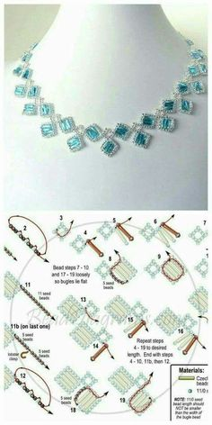 Free pattern for beaded bracelet princess crown beads magic 2 weaving pattern u need toho seed beads 11 0 czech tila beads super duo beads miyuki drops 3 4 mm – ArtofitThis Pin was discovered by TopThis is a beaded necklace pattern that I originally fou Beaded Necklace Patterns, Seed Bead Patterns, Beading Patterns, Seed Bead Necklace, Seed Bead Bracelets, Loom Bracelets, Stretch Bracelets, Jewelry Crafts, Handmade Jewelry