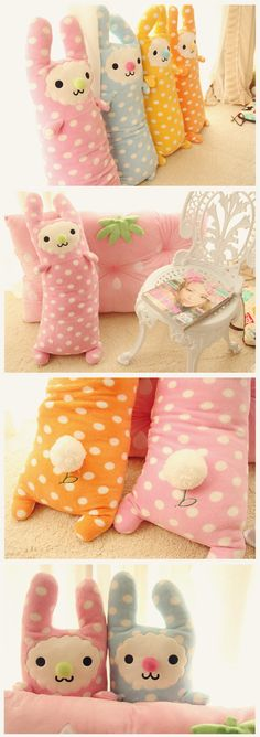 kawaii plushie pillow rabbit