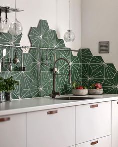 Gorgeous tiles - Marrakech Design Dandelion tiles