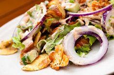 Pastanjauhantaa: Tacosalaatti (arjen pikaisia ruokia) Fresh Rolls, Soul Food, Salads, Tacos, Food And Drink, Mexican, Cooking, Ethnic Recipes, Salad