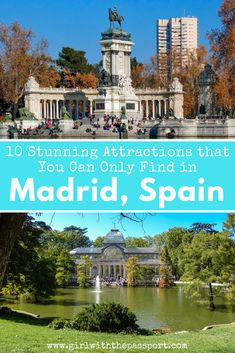 If you are planning to travel to Madrid, Spain then learn about all the amazing attractions that Madrid travel has to offer. From the Prado Museum to eating churros and chocolate at Plaza Mayor, there really are a vast array of things to do in Madrid, Spain. So use this post to create the perfect Madrid itinerary for your next Madrid, Spain trip. #Spain #travel #madrid #europe #wanderlust