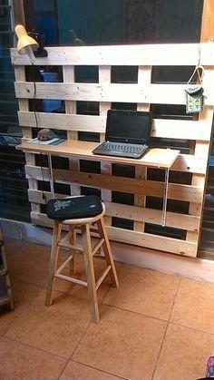 Diy meja kerja..