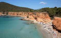 Sa Caleta: This beach, on the south side of Ibiza, is beloved by locals. It's a bit off the radar for tourists, so it's rarely crowded and always beautiful.