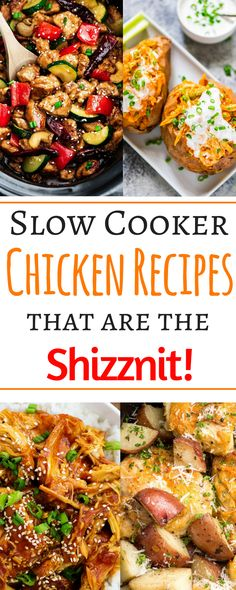 These 8 healthy slow cooker chicken recipes are so easy as main dishes you can make them on the busiest of days! Get out your crockpots and learn to make simple, delicious, clean eating and low carb main dishes. These crockpot meals for whole chickens or even thighs include the best teriyaki, Asian, Italian, soup, and chili recipes online.