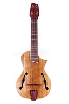 Roper Guitars custom archtop uke