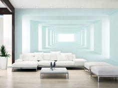 3d Wallpaper Panels, Wallpaper For Home Wall, 3d Wallpaper Living Room, Modern Wallpaper, Photo Wallpaper, Wallpaper Ideas, Striped Wallpaper, Wall Design, House Design