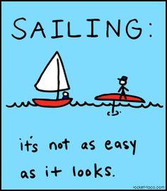sailing cartoon – Sailing Cartoons By Mike Mockford