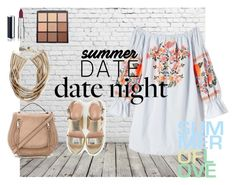 """""""summer love date"""" by nerea-her on Polyvore featuring moda, Free People, Max&Co., Rebecca Minkoff, Rosantica, Givenchy y Morphe"""