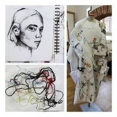 *Research B.A. Programme 3rd Year 2016* Patternmaking Course Student: Christina Streitwieser #creation #colors #drawing #design #fashion #esmod #esmodberlin #fashionschool #artschool