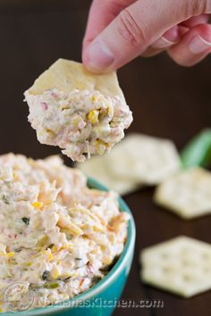 Serve this zucchini dip warm over crackers, or fresh French bread. So good! @natashaskitchen... An unconventional way to use up all that zucchini!!
