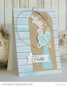 MFT Beautiful Blooms Card Kit - Inge Groot  #mftstamps