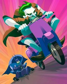 "109 Likes, 2 Comments - Virei Crítico (@vireicritico) on Instagram: """"Batman Kart"". Aperta o Z! Arte de @cassesecarmine #batman #homemmorcego #brucewayne #coringa…"""