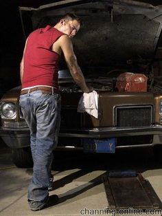 Channing Tatum....He can turn wrenches for me anyday!