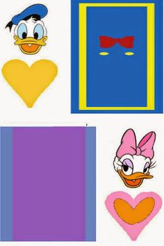Donald and Daisy: Free Printable Original Nuggets Wrappers.