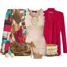 """John Lewis Cardigan Contest 2"" by kginger on Polyvore"