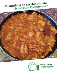 GAZPACHO MANCHEGO por sold1978. La receta de Thermomix<sup>®</sup> se encuentra en la categoría Arroces y pastas en www.recetario.es, de Thermomix<sup>®</sup> Gazpacho Manchego, Pasta, Macaroni And Cheese, Ethnic Recipes, Chocolate, Food, Spaghetti, Kitchens, Beverages