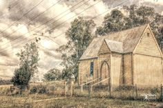 Instant Digital Download Old Country Church by DelightGallery