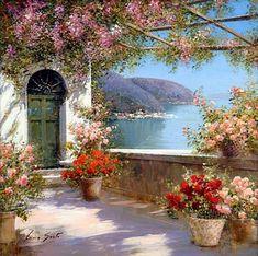 Lucia Sarto ~ Italian Romantic Impressionist painter