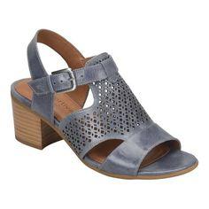 Comfortiva Women s Amber Block Heel Sandal afbe1fa892