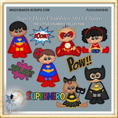 Baby Superhero Clipart birthday party Super by MagicmakerScraps Superhero Clipart, Baby Superhero, Hero Crafts, Craft Cabinet, Calendar Stickers, Food Wallpaper, Mural Wall Art, Paint Shop, Blog Design