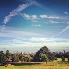 Parliament Hill in Hampstead, Greater London