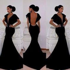 Leshery New Sexy Women Sleeveless Prom Ball Cocktail Party Dress Formal Evening Gown (M) by N/A